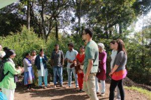 Field visit to Karikyur village in Aracode