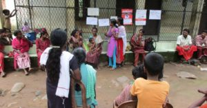 Awareness camp on monsoon disease prevention in progress in Vaniyampuzha, Nilambur