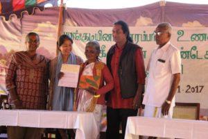 Janakiamma receives the PKF award