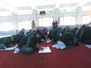 Drawing competion at St. Mary's School