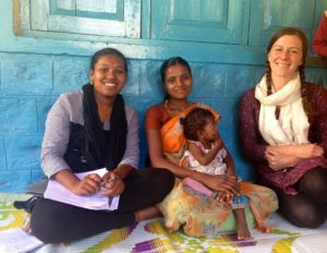 Bridget and Mahanadi Interview a mother about infant feeding