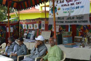 L-R TKV Rajan, Dr KK Suresh, Rev Mulley, Pratim Roy