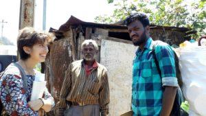 Deepa and Gautam with NPR Traders